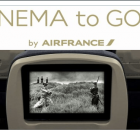 Dispositif Cinema To Go avec Air France le temps du festival de Cannes