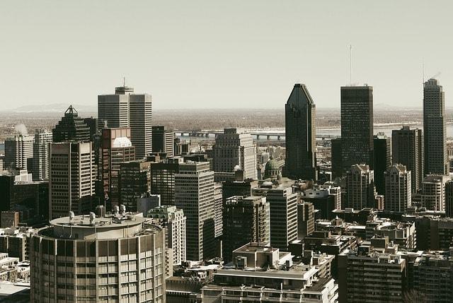 Panorama de la ville de Montréal