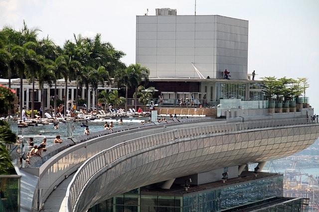 Singapour 8 lieux incontournables ne pas manquer algofly - Ingresso piscina marina bay sands ...